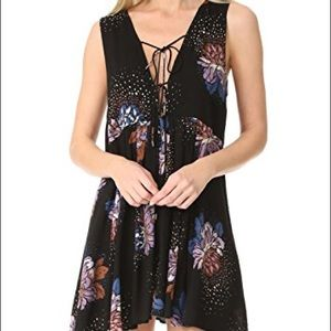 Free people Lovely Day Printed Tank Top tunic